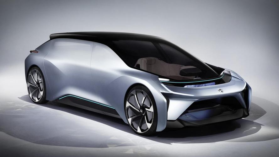 Nio Eve konsepti otonom bir elektrikli aracı temsil ediyor