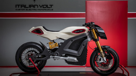 Italian Company Offers Awesome Looking Electric Motorcycle