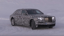 2018 Rolls-Royce Phantom screenshot from spy video
