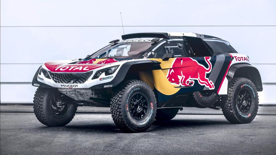 Peugeot lève le voile sur le nouveau 3008DKR Maxi