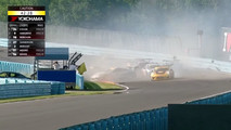 Porsche GT3 Cup Race Crash