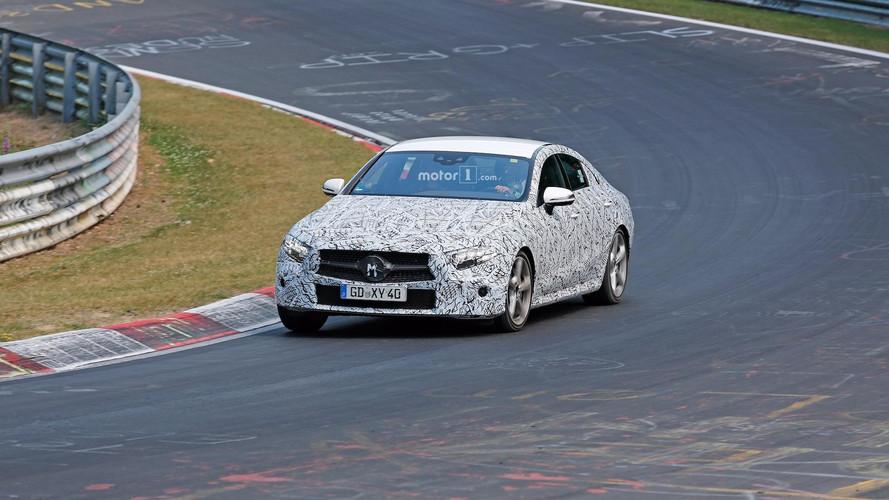 Photos espion - La Mercedes CLS 2018 sur le Nürburgring