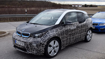 2018 BMW i3 facelift spy photos