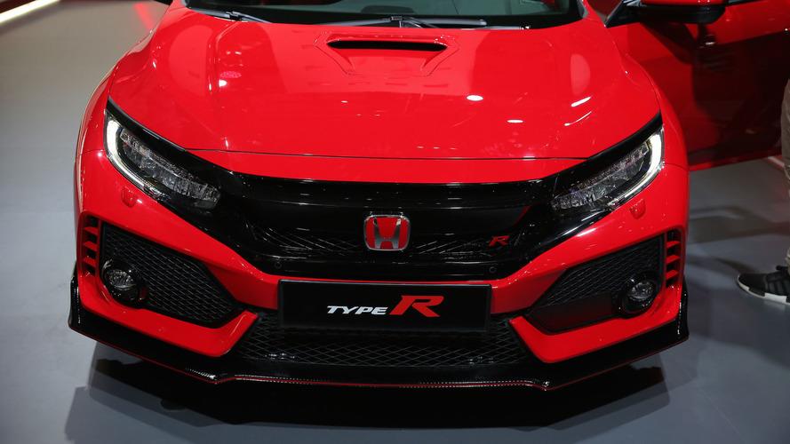 2017 Honda Civic Type R (Üretim versiyonu)