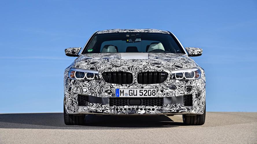 2018 BMW M5 Prototípus