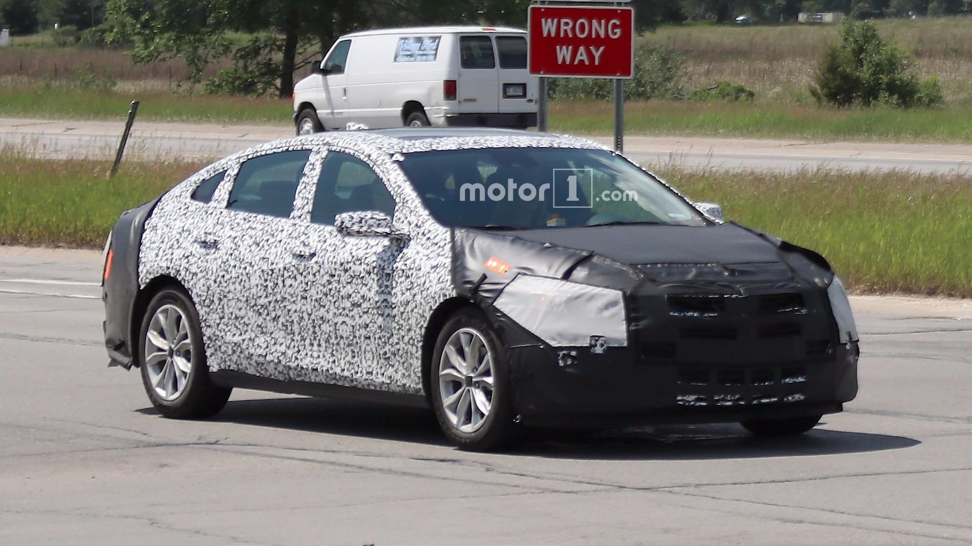 2019 Malibu >> 2019 Chevy Malibu Prototype Caught Hiding In Plain Sight