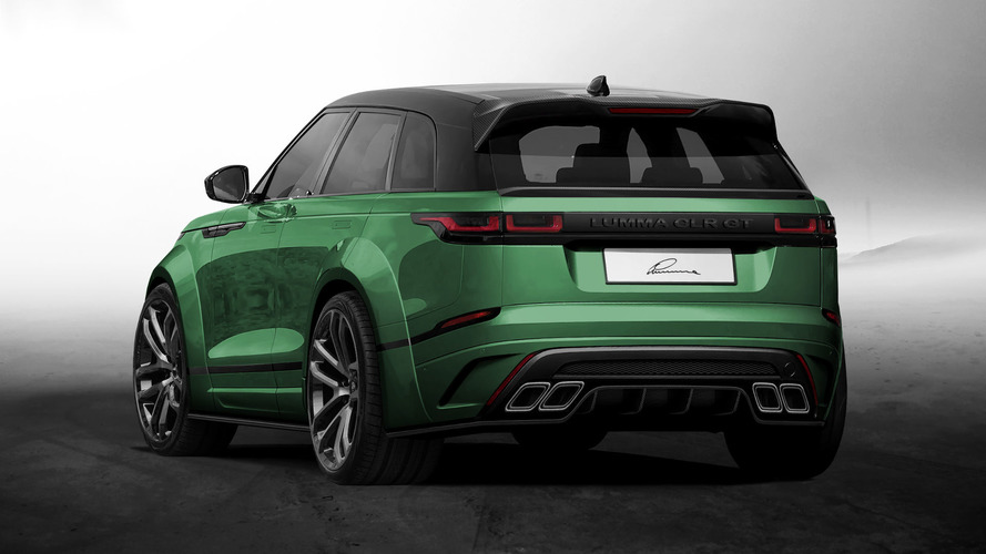 tuning lumma design s 39 attaque au nouveau range rover velar. Black Bedroom Furniture Sets. Home Design Ideas