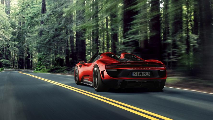 Imagining The Impossible: Porsche 918 Spyder Facelift Rendered
