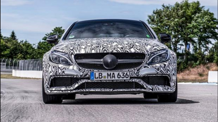 Mercedes C 63 AMG Coupé, si scopre per la prima volta