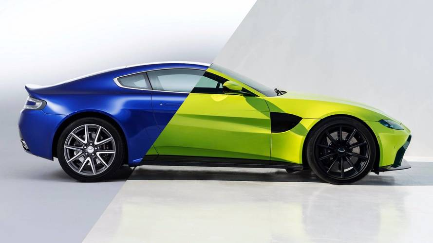 The 2018 Vantage is Aston Martin's 503-hp entry-level sports vehicle