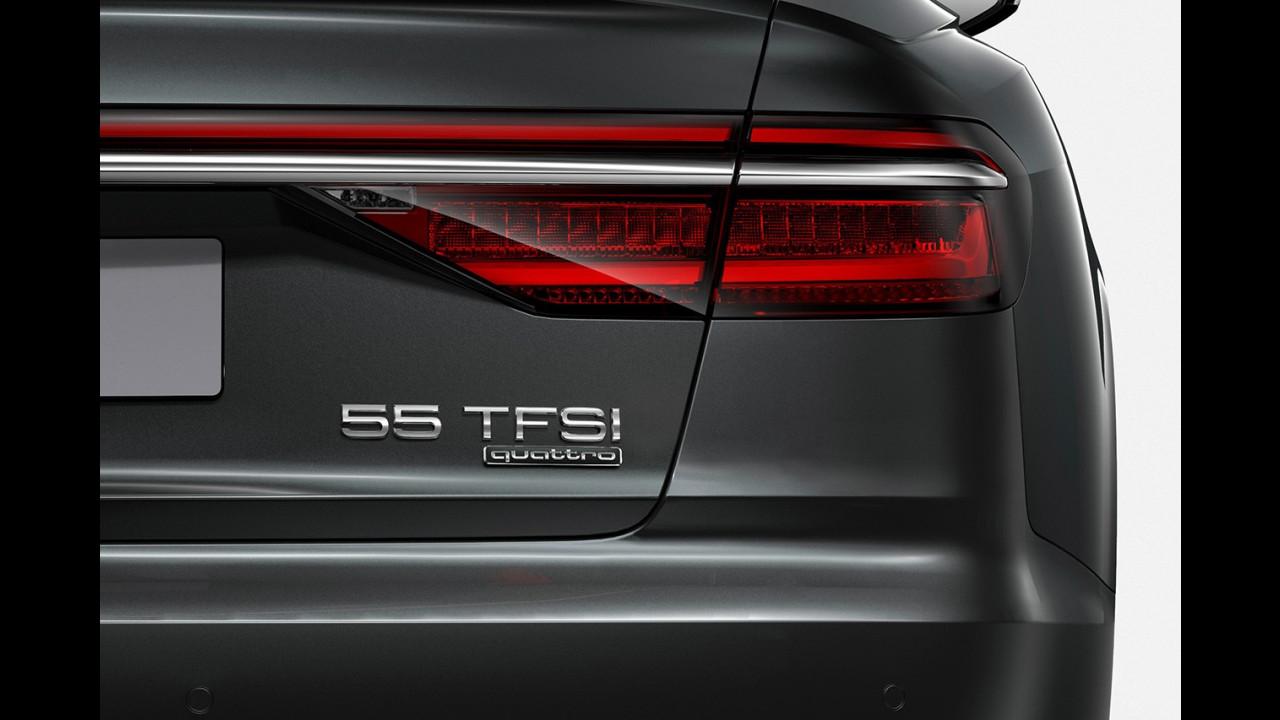 Audi, nuovi nomi con numero per potenza