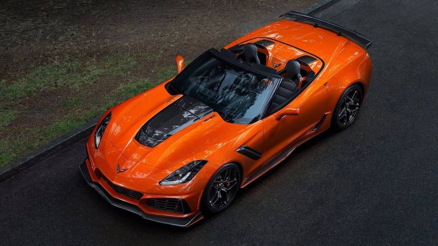 La version cabriolet de la Corvette ZR1 (2019)
