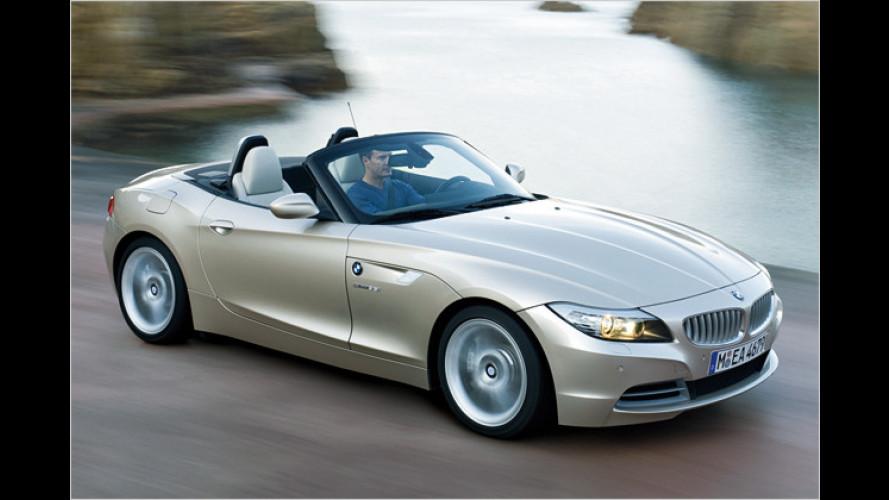 BMW in Detroit: Z4 steht als Weltpremiere auf der NAIAS 2009