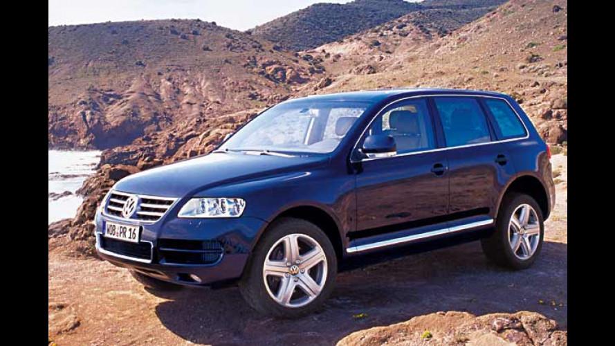 VW Touareg V10 TDI: Stärkster Pkw-Diesel wird sauber