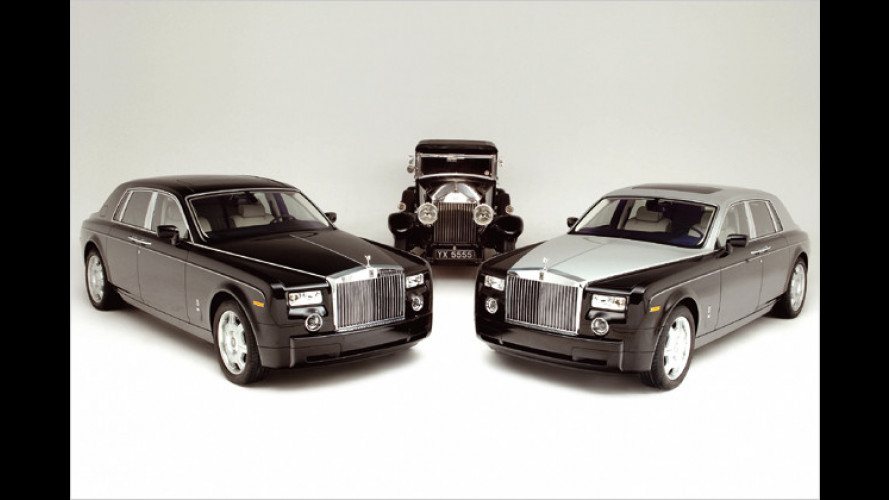 Rolls-Royce Phantom: Sondermodell zum Achtzigsten