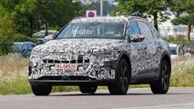 Audi E-Tron casus fotoğraflar