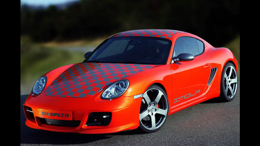 Cayman Orange: Rinspeed bietet exklusives Kroko-Tuning