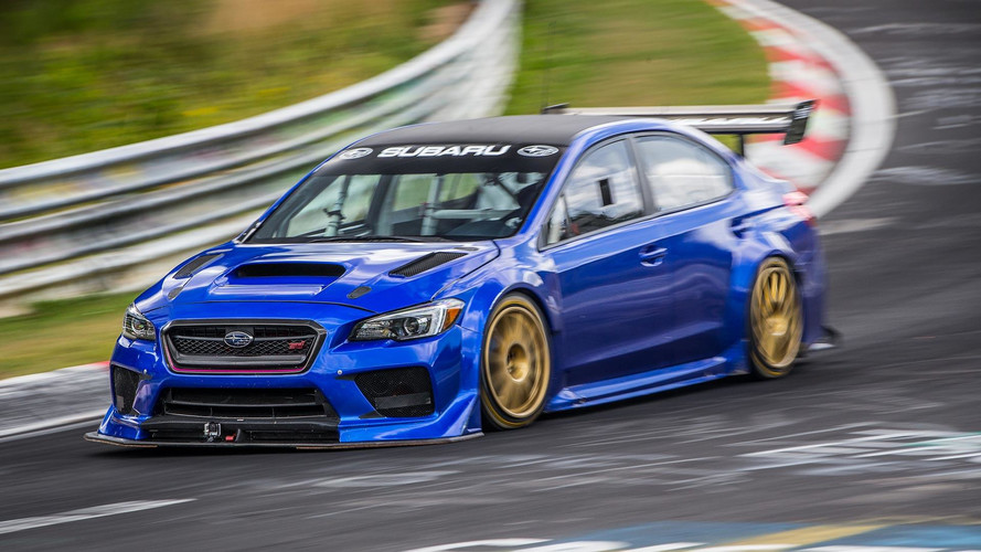 Watch The Subaru STI NBR Special Set Sedan Lap Record At The Ring