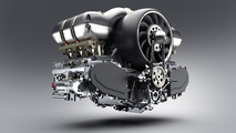 Porsche 911 engine modified by Williams and Singer