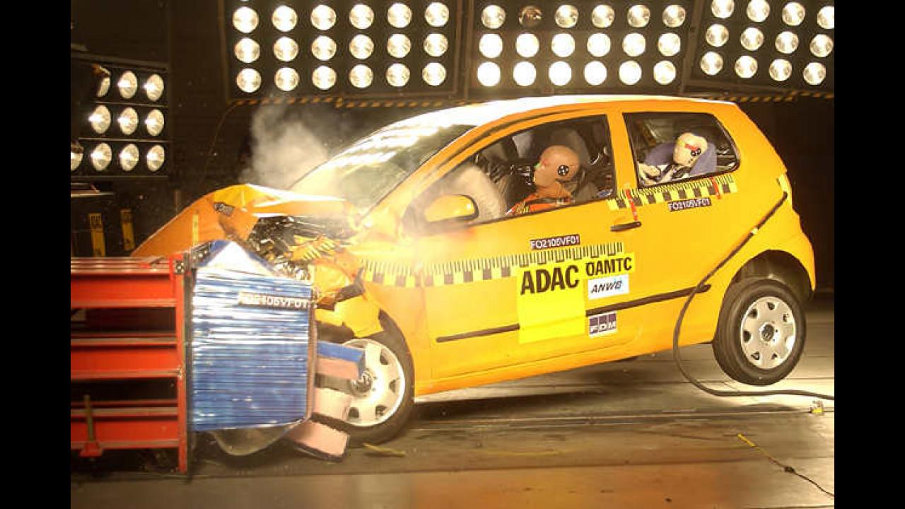VW Fox im Crashtest