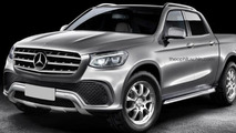 Mercedes pickup gets ready for production in new rendering