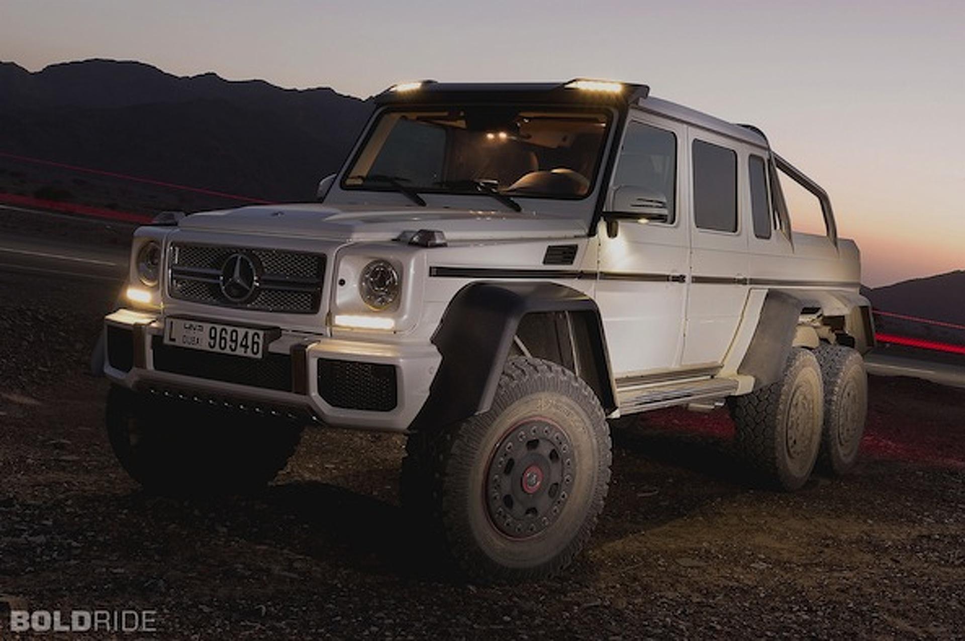 Wheels Wallpaper: Mercedes-Benz G63 AMG 6x6