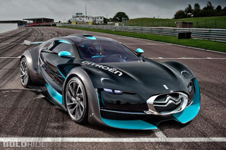 Wheels Wallpaper: Citroen Survolt Concept