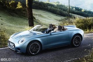 Mini Superleggera Vision is the Ideal British Roadster
