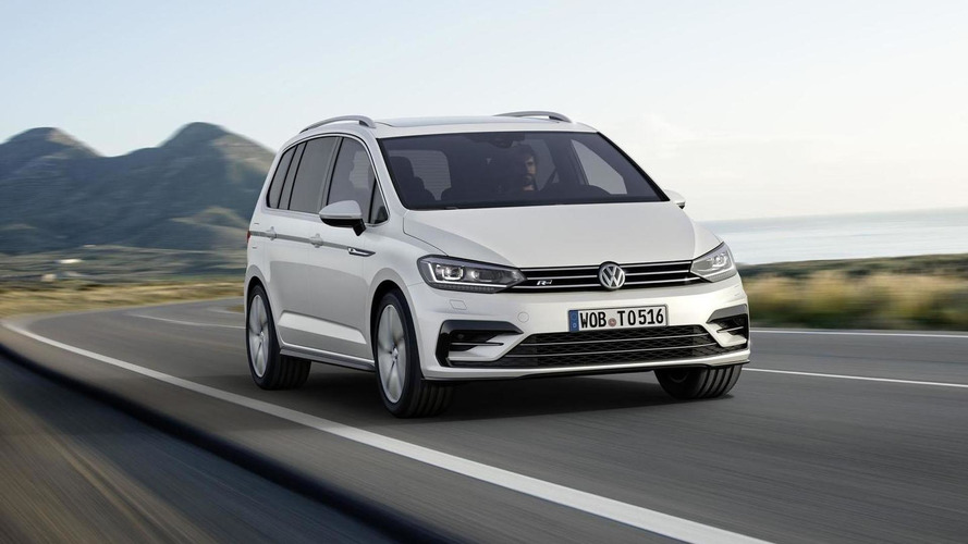 Volkswagen Touran R-Line introduced