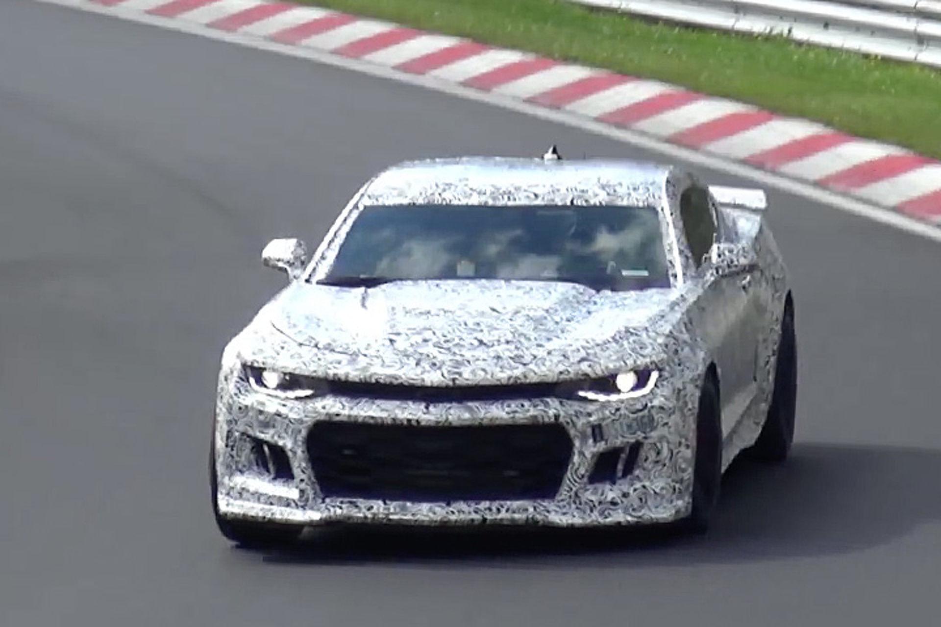 Listen to the 2017 Camaro ZL1 Roar on Track