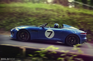 Jaguar Project 7 Concept is a Stunning Memento of Racing Past [w/video]