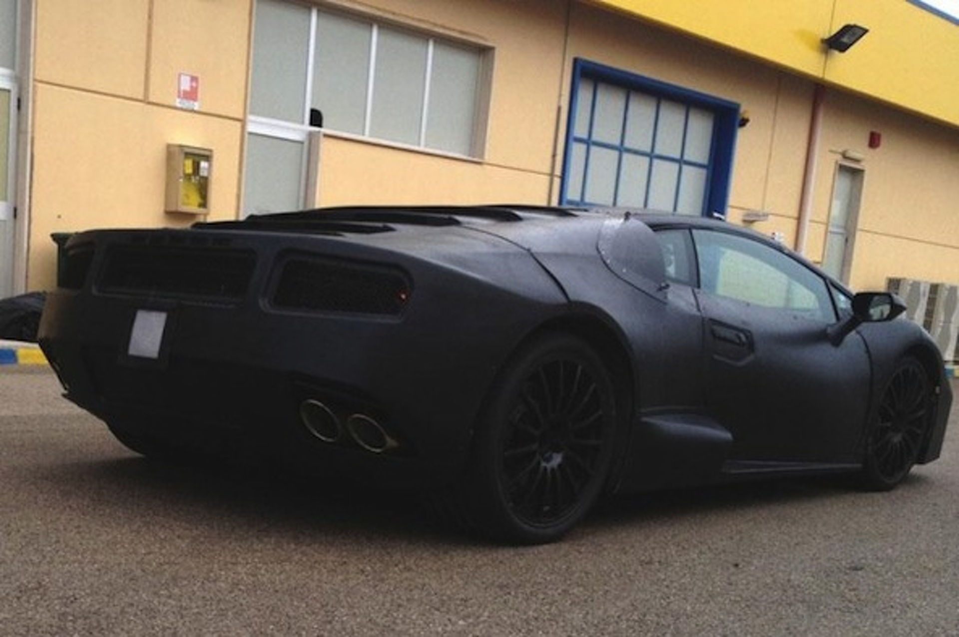 Lamborghini Gallardo Replacement Spied Ahead of Frankfurt