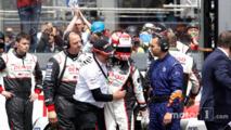#5 Toyota Racing Toyota TS050 Hybrid- Kazuki Nakajima with Rob Leupen