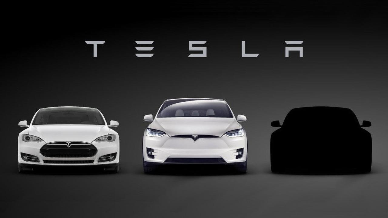 Tesla Model 3 Teaser Image