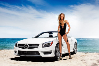 Fashion Week: Mercedes Gets Hot in South Beach