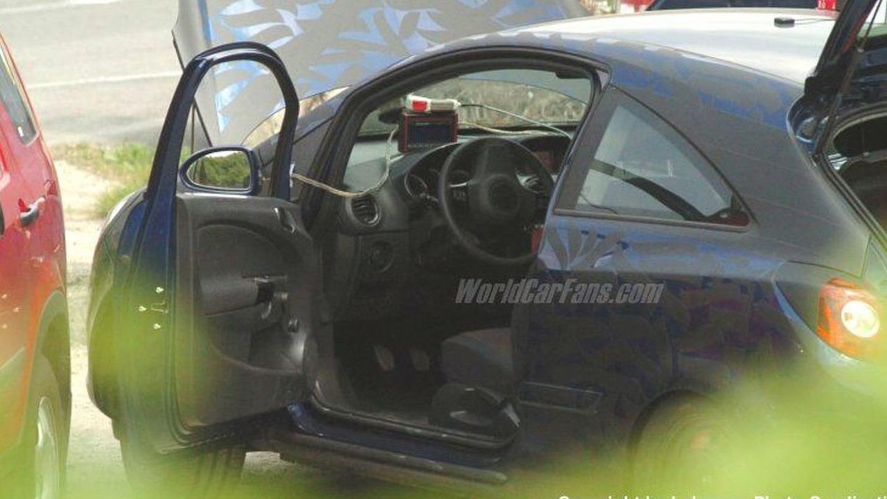 New Vauxhall Corsa 3 Door Coupe spy photos
