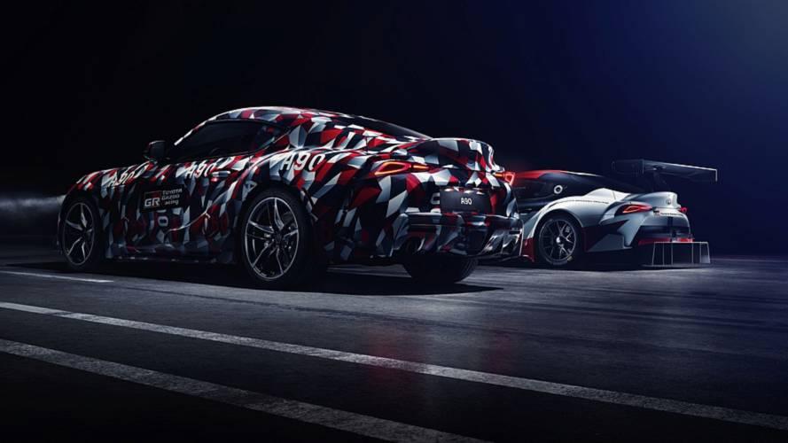 Teaser Toyota Supra 2019: con motor de seis cilindros en línea