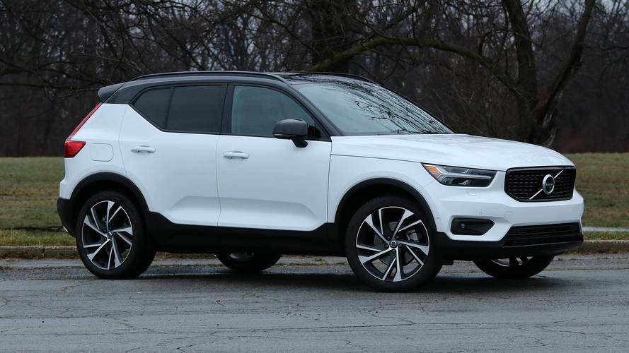 2019 volvo xc40 review a winning formula. Black Bedroom Furniture Sets. Home Design Ideas