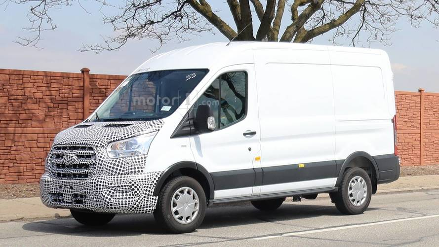 Spoiler Alert: 2019 Ford Transit Spied, Still Looks Like Van