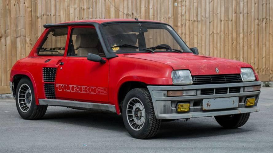 Une Renault 5 Turbo 2 à vendre au Royaume-Uni