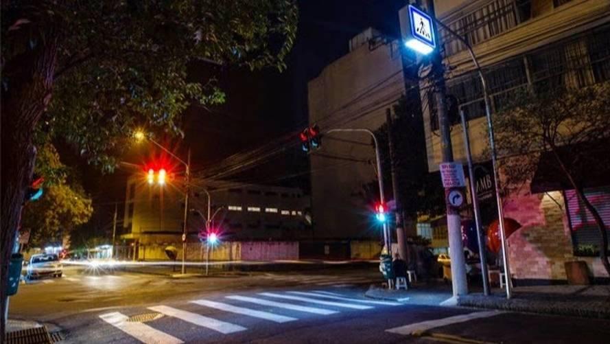 Lei quer faixas de pedestres com iluminação em todo o país