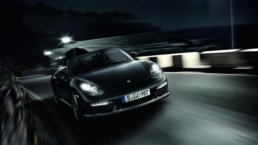 Porsche Boxster S Black Edition announced