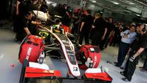 Bruno Senna (BRA), HRT F1 Team - Formula 1 World Championship, Rd 1, Bahrain Grand Prix, Friday Practice