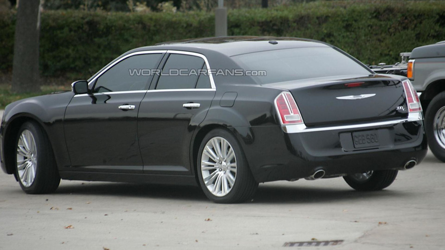 2011 Chrysler 300C spied undisguised