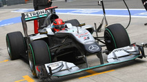 Mercedes 'wrong' to focus on Schumacher - Jordan