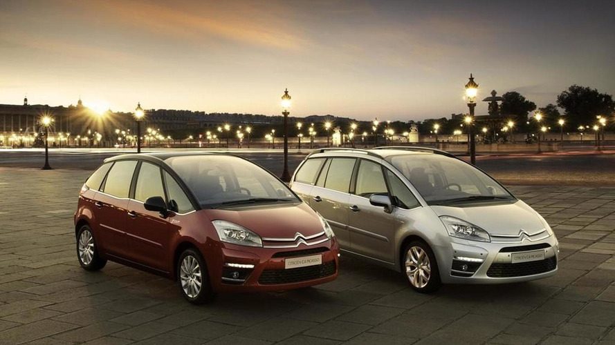 2011 Citroen C4 Picasso & Grand Picasso facelifts revealed