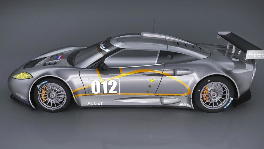 Spyker announces C8 Aileron GT race car