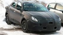Alfa Romeo Milano prototype spy photo