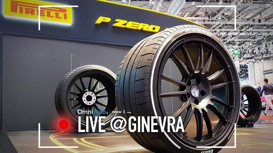 Pirelli Cyber Car, da Ginevra pneumatico e auto si parlano