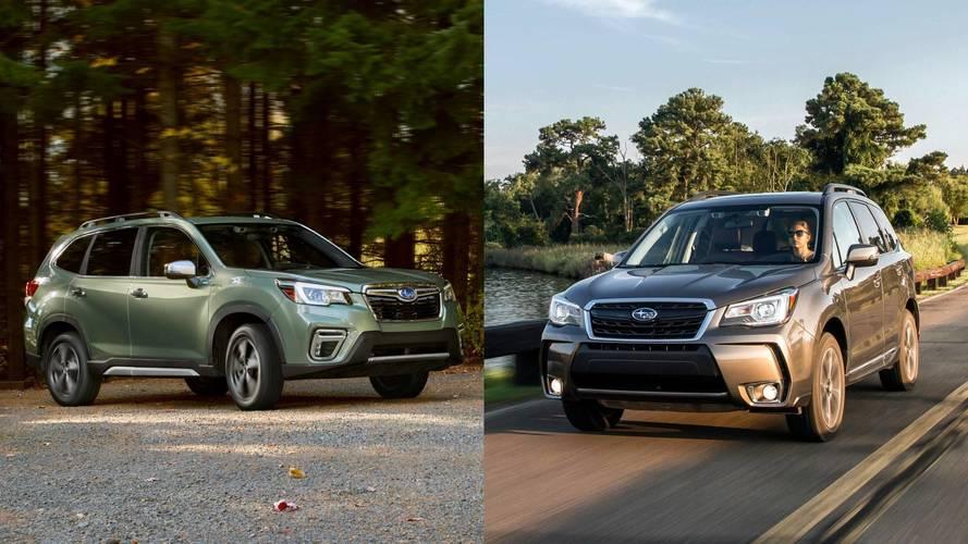 Comparamos el Subaru Forester 2018 contra su antecesor